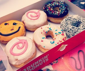 donuts, eat, and girl image