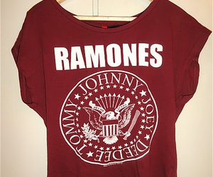 fashion, ramones, and red image