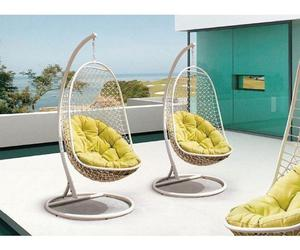 hanging chairs, hanging chair for bedroom, and hanging chair outdoor image