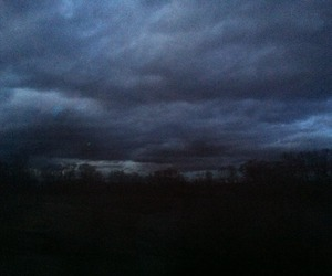 grunge, pale, and clouds image