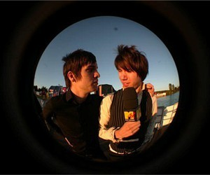 brendon urie, panic at the disco, and ryan ross image