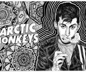 arctic monkeys and alex turner image