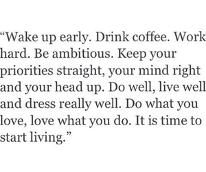 coffee, love, and live image