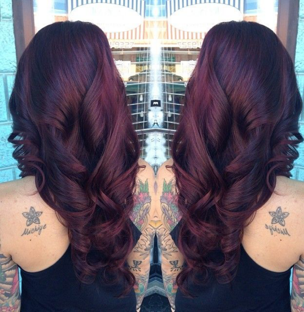 Fall Hair Color Discovered By Noelly On We Heart It