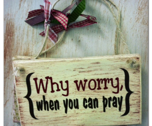 JW, pray, and dontworry image