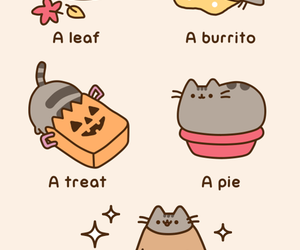 cat, Halloween, and pusheen image