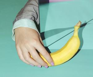 art, banana, and grunge image