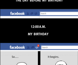 birthday, true, and facebook image