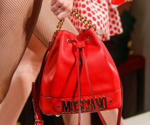 bag, Moschino, and red image