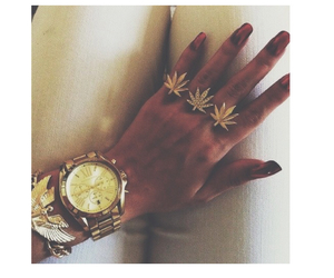 bracelet, ring, and watch image