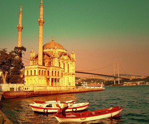 istanbul, mosque, and sea image