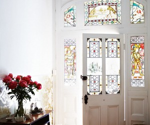 door and interior image
