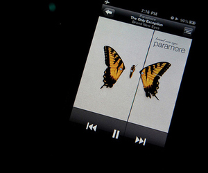 paramore, brand new eyes, and ipod image