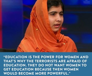 education, feminism, and malala yousafzai image
