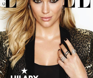 elle magazine, Hilary Duff, and lizzie mcguire image