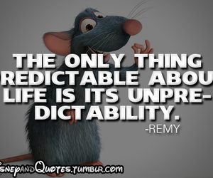 disney, quote, and remy image