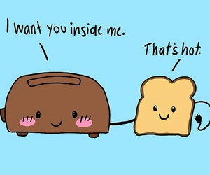 adorable, Hot, and bread image