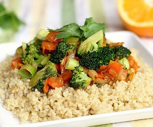 healthy, weight loss, and vegan food image
