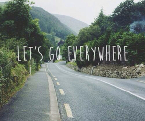travel, everywhere, and quotes image