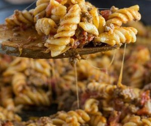 delicious, pasta, and eat image
