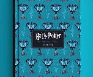 harry potter, book, and blue image