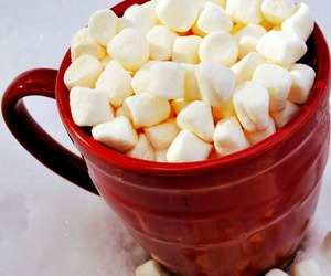marshmallow and food image