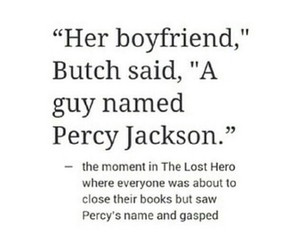 percy jackson, tumblr post, and percabeth image
