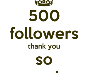 500, thank you, and amazing image