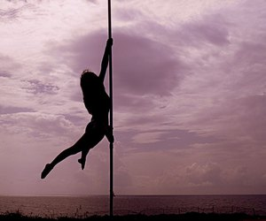 expression, pole dance, and vacation image