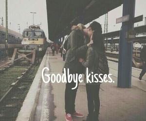 kiss, love, and goodbye image