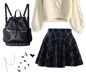 fall, nerd, and ootd image