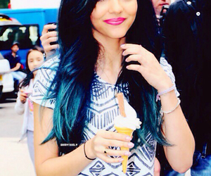 jade thirlwall, little mix, and blue hair image