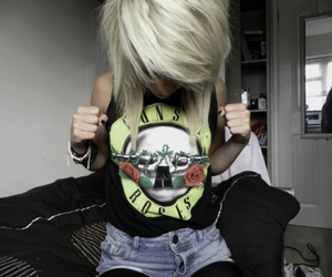 alternative, blonde, and emo image