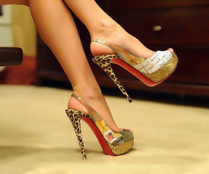high heels, shoes, and stiletto image