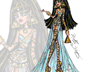 hayden williams, monster high, and cleo de nile image