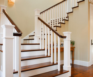 home and staircase image