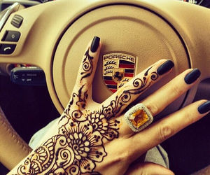 porsche, henna, and car image
