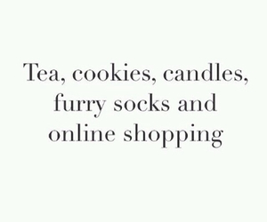 tea, quotes, and Cookies image