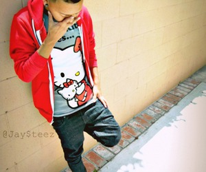 swag, boy, and hello kitty image