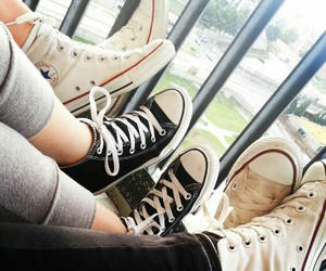 beautiful, shoes, and friends image