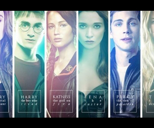 clary, harry potter, and percy image