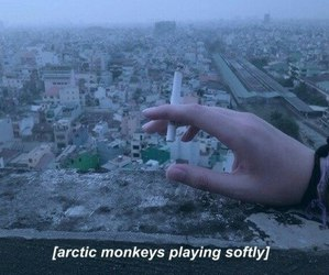 arctic monkeys, cigarette, and indie image