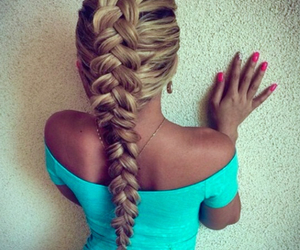 cute hair, love it, and nails image