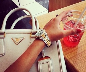 fashion, bag, and Prada image