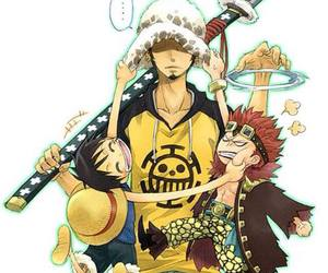 one piece, luffy, and kids image