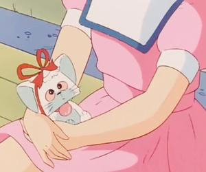 anime, girl, and 80s image