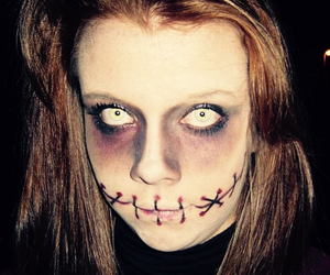 freak, girl, and Halloween image