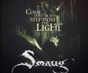 the hobbit and smaug image