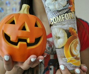 pumpkin, fall, and tumblr image