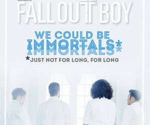fall out boy and immortals image